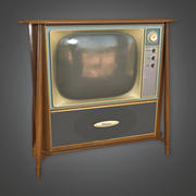Télévision rétro - PBR Game Ready 3d model