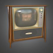 Televisión retro - Juego PBR listo modelo 3d