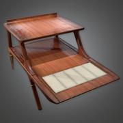 Retro Table 06 (Midcentury Mod) - PBR Game Ready 3D 3d model