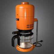Koffiezetapparaat 01 (Midcentury Mod) - PBR Game Ready 3D 3d model
