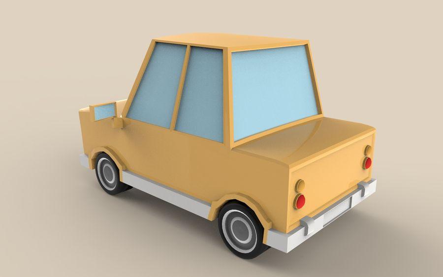 Cartoon Car model royalty-free 3d model - Preview no. 2