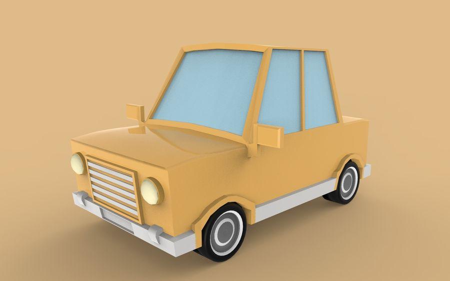 Cartoon Car model royalty-free 3d model - Preview no. 1