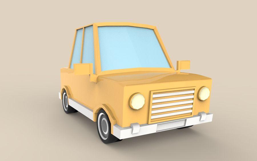 Cartoon Car model royalty-free 3d model - Preview no. 4
