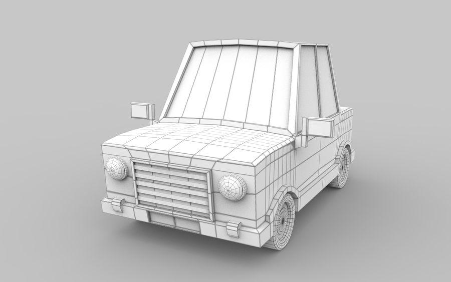 Cartoon Car model royalty-free 3d model - Preview no. 5