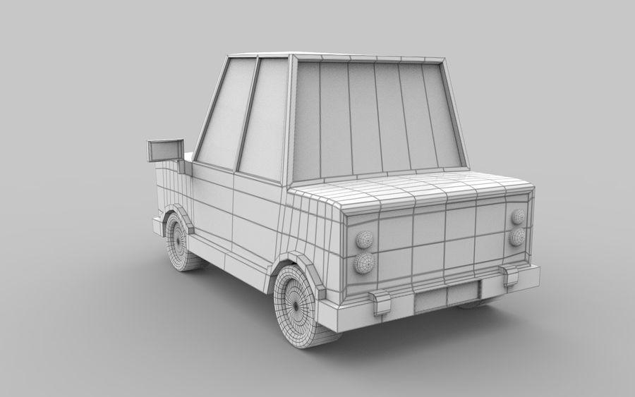 Cartoon Car model royalty-free 3d model - Preview no. 6