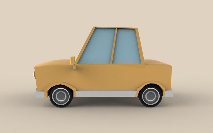 Cartoon Car model royalty-free 3d model - Preview no. 3