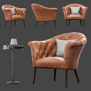 Krzesło okolicznościowe Walter 3d model