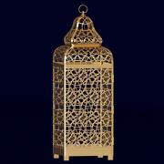 Ornate Moroccan lantern 3d model