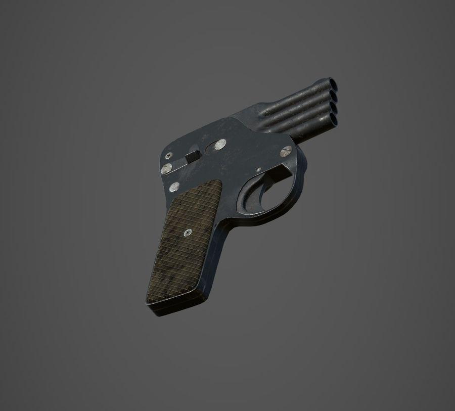 Flera tunnvapen royalty-free 3d model - Preview no. 2