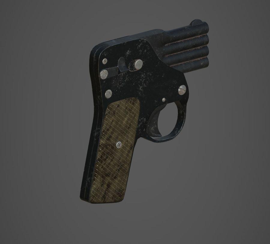 Flera tunnvapen royalty-free 3d model - Preview no. 1
