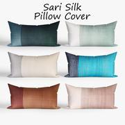 Decorative pillows westelm set 3d model