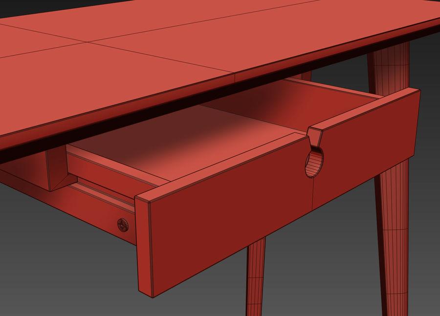 IKEA LISABO Schreibtisch royalty-free 3d model - Preview no. 7