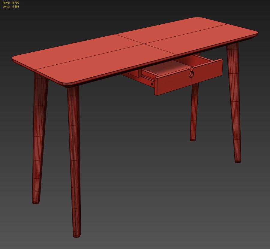 IKEA LISABO Schreibtisch royalty-free 3d model - Preview no. 5