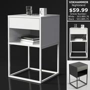 IKEA VIKHAMMER Nightstand 3d model