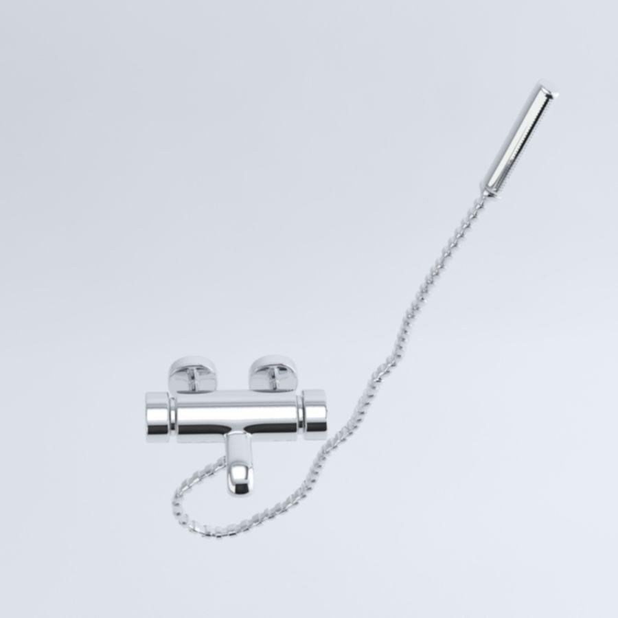 Bathroom faucet royalty-free 3d model - Preview no. 8