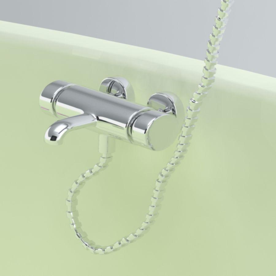 Bathroom faucet royalty-free 3d model - Preview no. 5