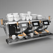 Astoria Coffee Machine Storm 3 group noir 3d model