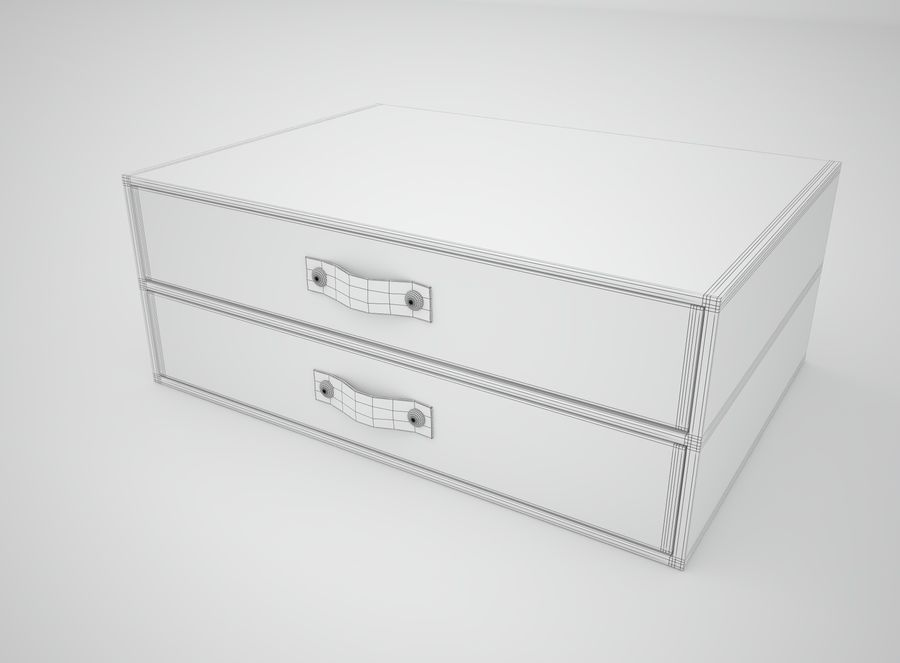 Szuflada royalty-free 3d model - Preview no. 7