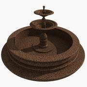 Granieten fontein 2 3d model