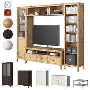 Meble Ikea Hemnes 3d model
