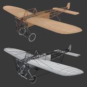 bleriot-XI 3d model