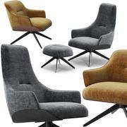 Molteni Kensington koltuk takımı 3d model