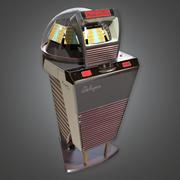 Retro Jukebox (Midcentury Mod) - PBR Game Ready 3D 3d model