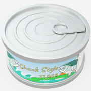 Tin Food Can 3d model