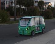 3d модель водителя-шаттла без водителя 3d model