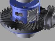 Automobile Differential 3D 3d model