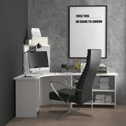 espace de travail 3d model