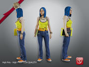 Studentka 3d model