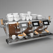 Astoria Coffee Machine Storm 3 groupe cuivre 3d model