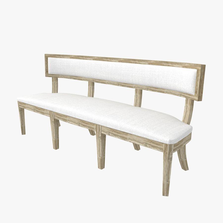 Meubles en bois sur mesure royalty-free 3d model - Preview no. 4