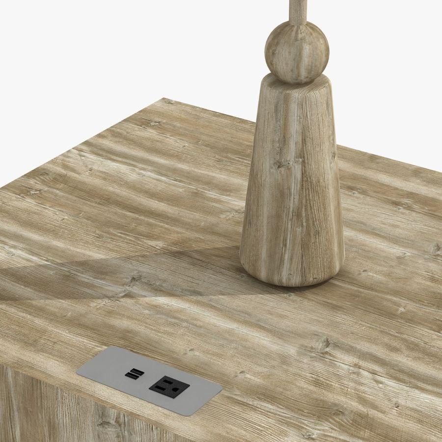 Meubles en bois sur mesure royalty-free 3d model - Preview no. 14