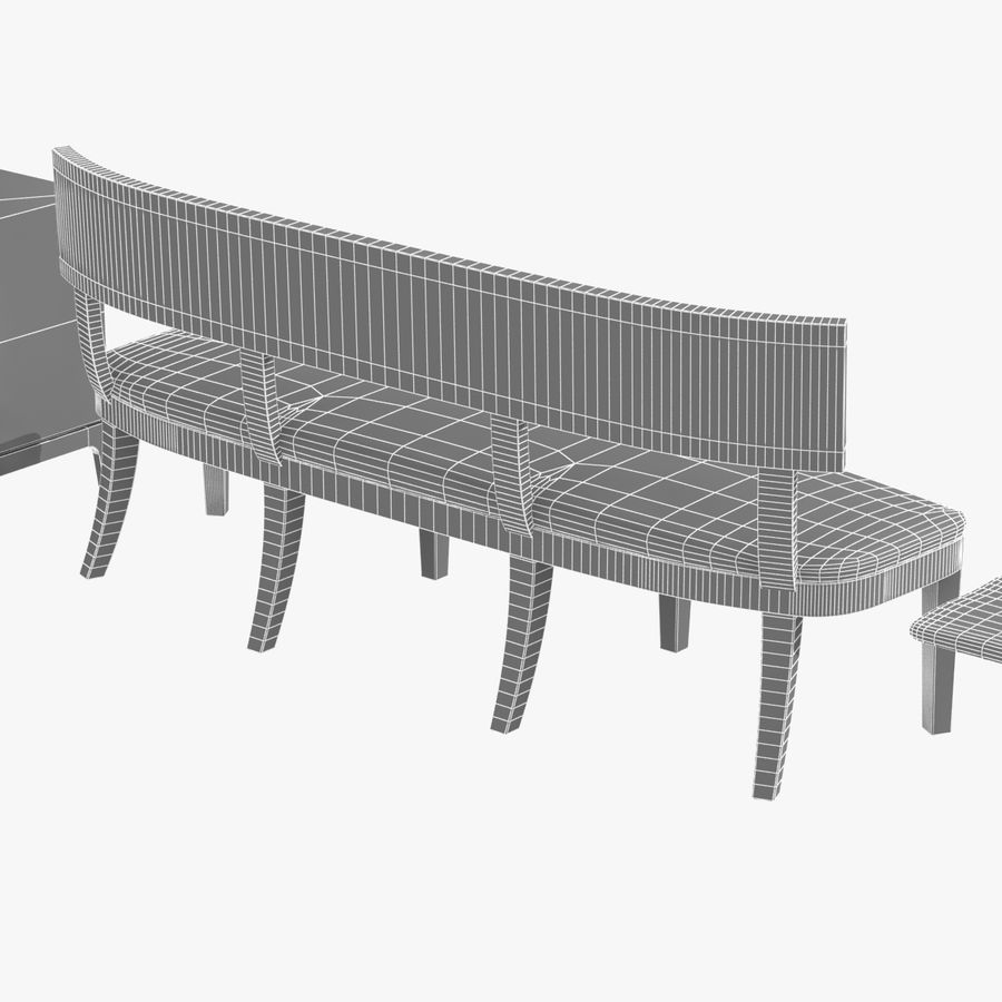 Meubles en bois sur mesure royalty-free 3d model - Preview no. 23