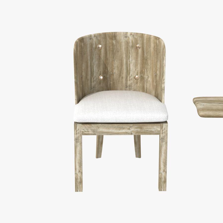 Meubles en bois sur mesure royalty-free 3d model - Preview no. 10