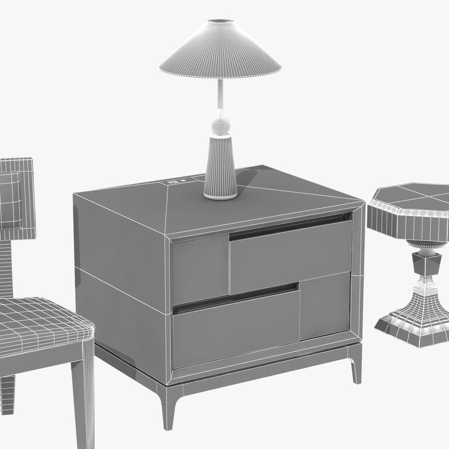 Meubles en bois sur mesure royalty-free 3d model - Preview no. 24