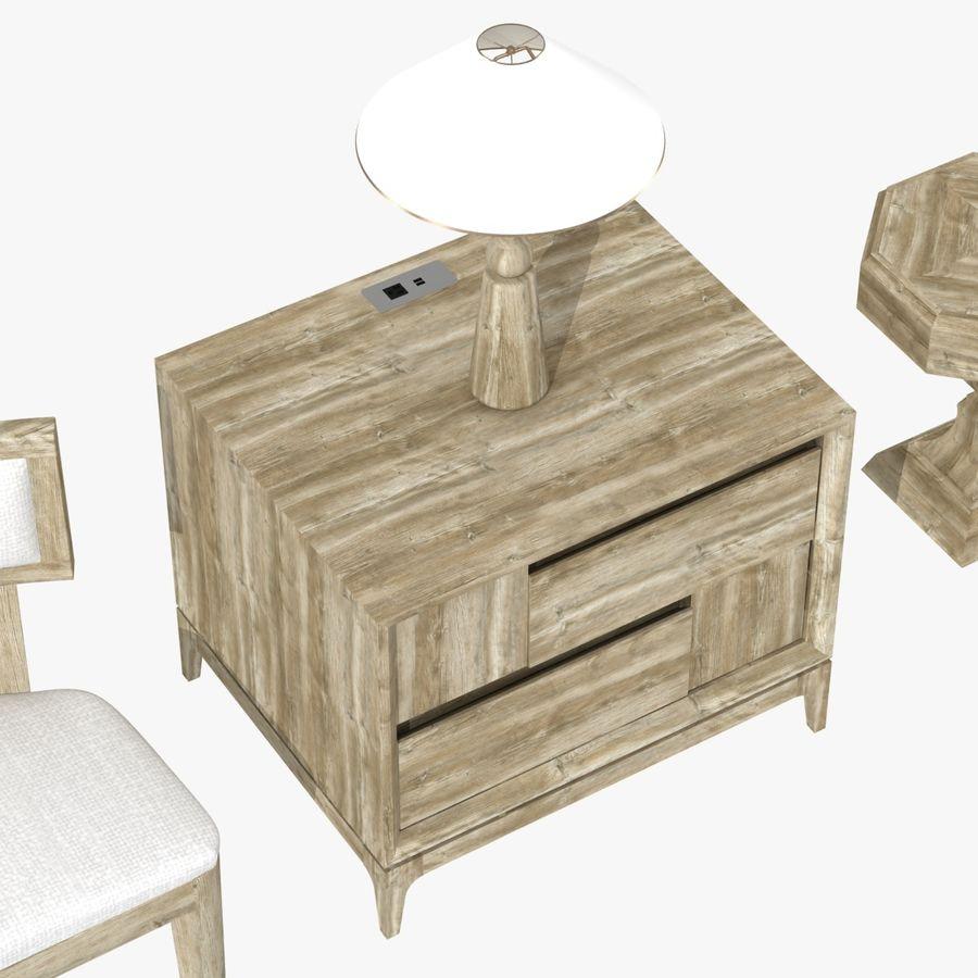 Meubles en bois sur mesure royalty-free 3d model - Preview no. 13