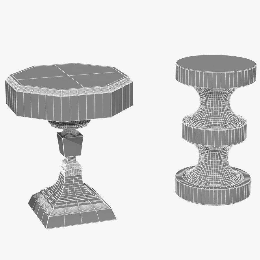 Meubles en bois sur mesure royalty-free 3d model - Preview no. 27