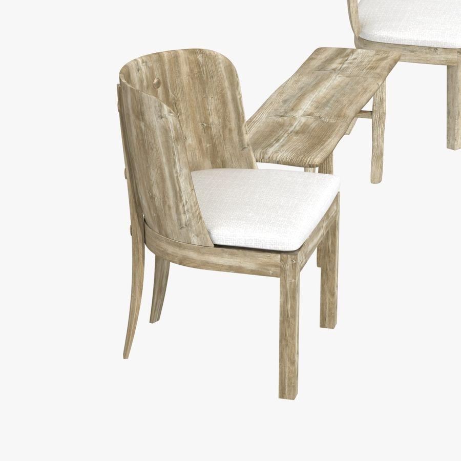 Meubles en bois sur mesure royalty-free 3d model - Preview no. 9