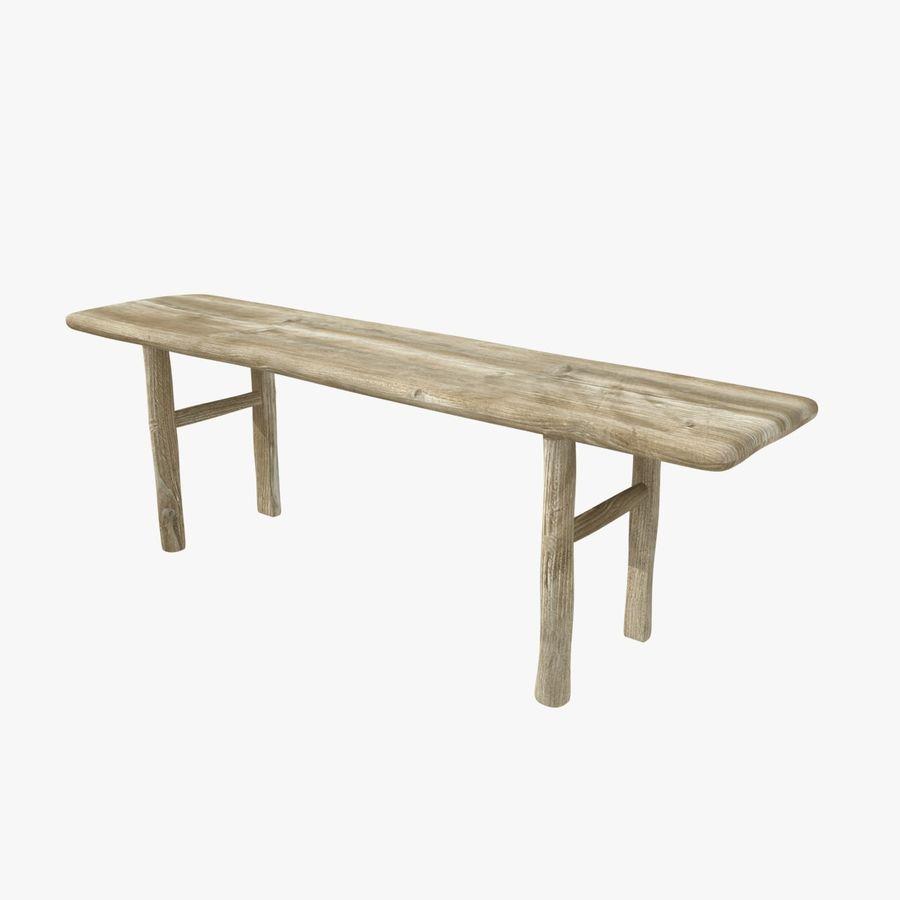 Meubles en bois sur mesure royalty-free 3d model - Preview no. 5