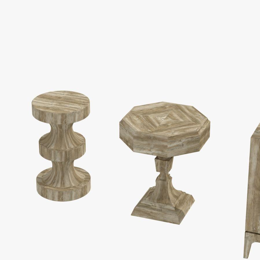 Meubles en bois sur mesure royalty-free 3d model - Preview no. 16