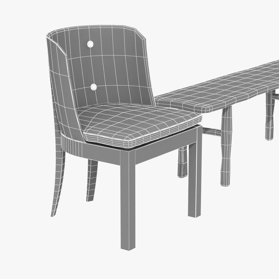 Meubles en bois sur mesure royalty-free 3d model - Preview no. 18
