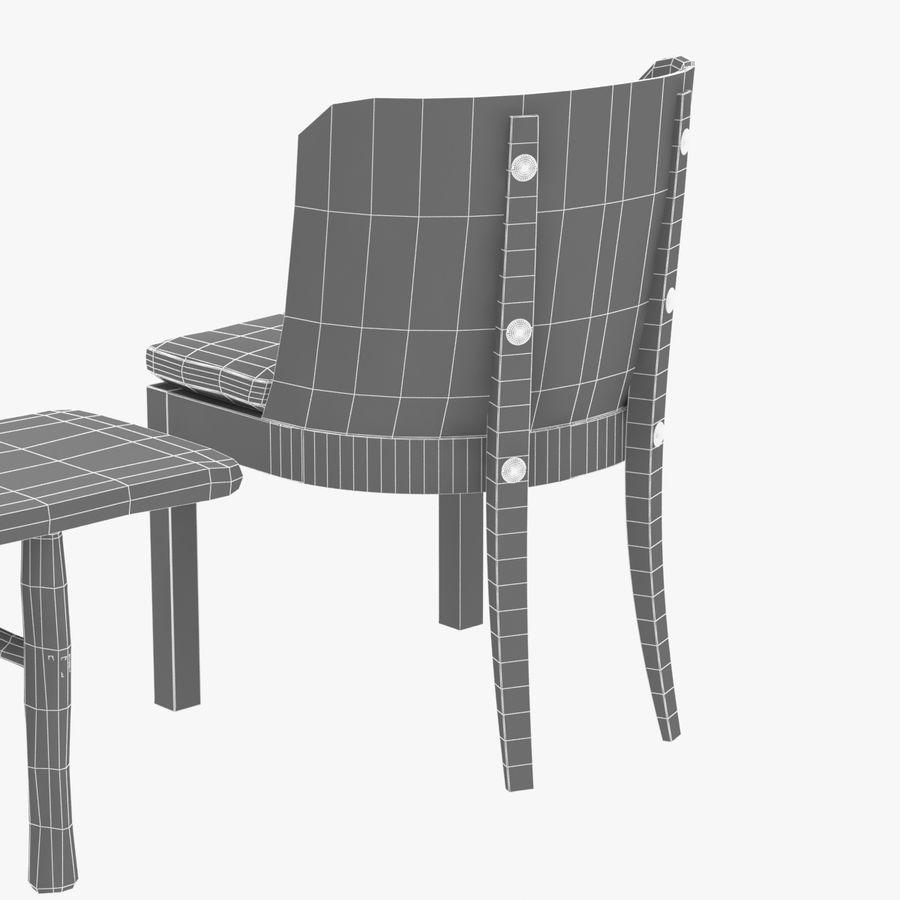 Meubles en bois sur mesure royalty-free 3d model - Preview no. 19