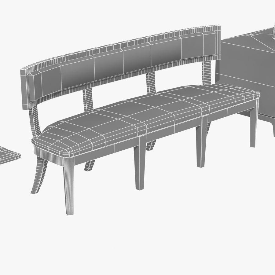 Meubles en bois sur mesure royalty-free 3d model - Preview no. 21