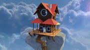 Modelo 3D de Cloud House modelo 3d