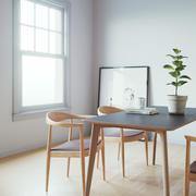 Cena interior simples 3d model
