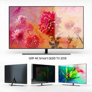 Samsung Q9F 4K Smart QLED TV 2018 - 55, 65 och 75 tum 3d model