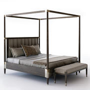Bernhardt Clarendon Canopy Bed 3d model